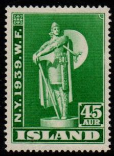 1939 World Fair 45a Green