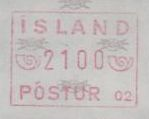 1983/99 Machine Label 2100a Numbered 02