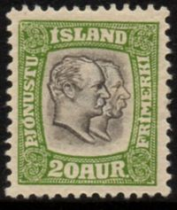 1907 Official 20a Yellow Green