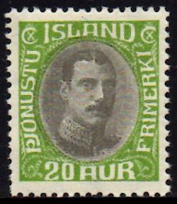 1932 Official 20a Yellow-green