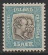 1907 Official 15a Pale Blue