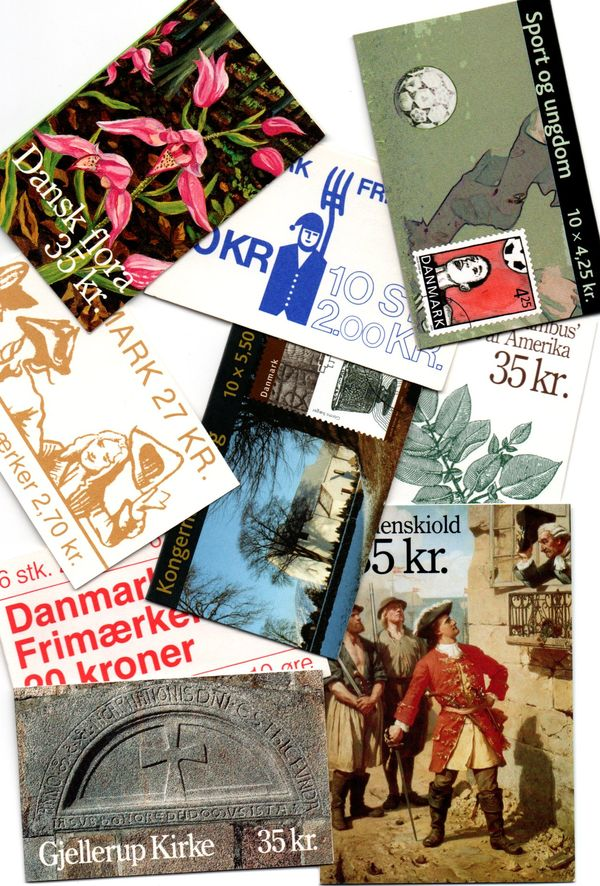 Accumulation of Denmark Booklets (51)