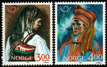 1989 Nordic: Traditional Costumes