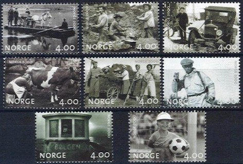 1999 Norway 2000 (2nd issue)