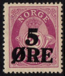 1922 Surcharge M/M