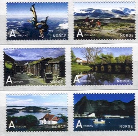 2007 Tourism Stamps