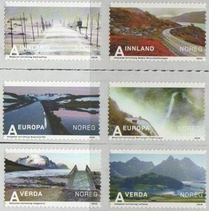 2010 Tourism Stamps