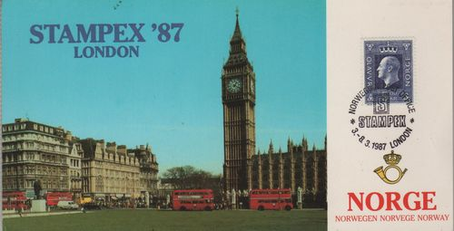 1987 London Stamp Exhibition
