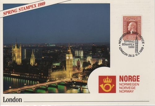 1989 London Stamp Exhibition