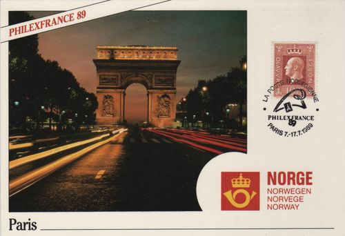 1989 Paris Stamp Exhibition