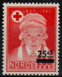 1948 Red Cross Surcharge