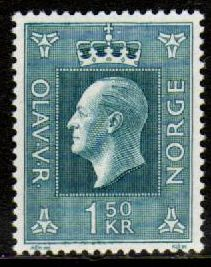 1 Kr 50 Prussian blue