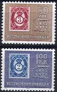 1972 Posthorn Stamps