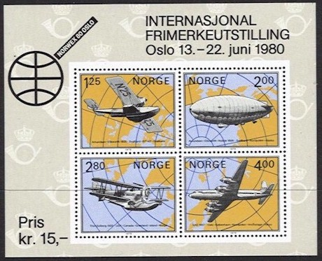1979 Norwex 80 (2nd issue) M/S