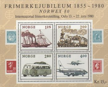 1980 Norwex 80 (3rd issue) M/S