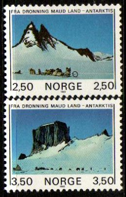 1985 Antarctic Mountains