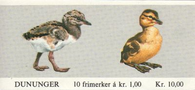 1980 Birds (10 Kr) - Click Image to Close