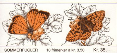1994 Butterflies (2nd Issue)