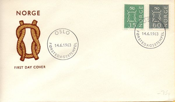 1963 35ø & 60ø Reef Knot Definitives