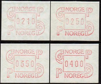 1986 Fixed Value Labels (4v)
