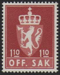 1 Kr 10 Brown Red