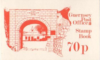 1982 70p Fort George Booklet