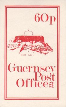 1981 60p Fort Grey Booklet