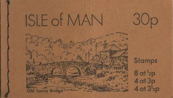 1974 30p Laxey Bridge Booklet