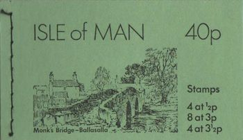 1974 40p Monks Bridge Booklet