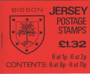 1983 Bisson £1.32 Booklet
