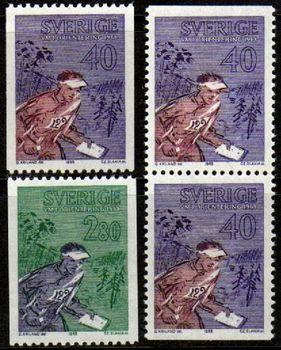 1968 orienteering stamps