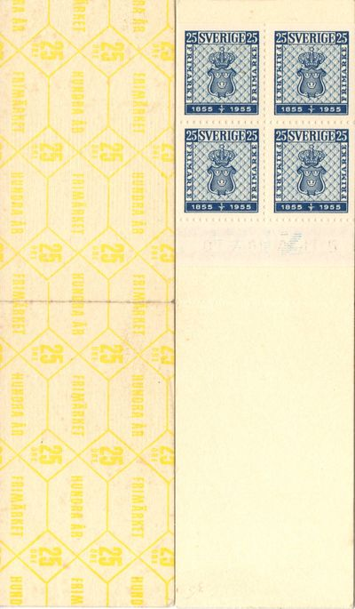 1955 Stamp Centenary (HA4 O)