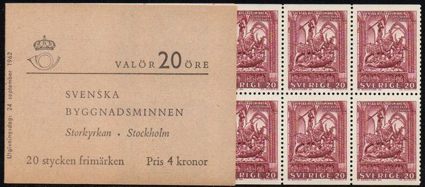 1962 Swedish Monuments (4 Kr)