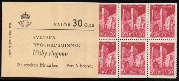 1965 Swedish Monuments (3rd Issue)