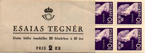 1946 Esaias Tegner (Name on Cover)
