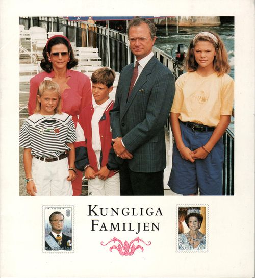 1993 Royal Family Folder