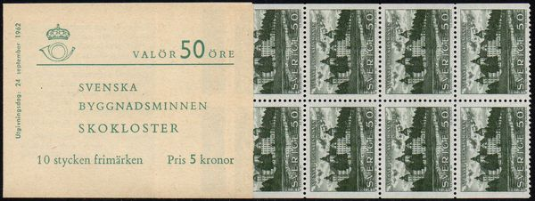 1962 Swedish Monuments (5 Kr)