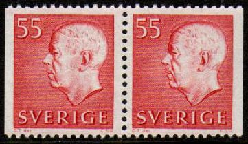 55ø Red (Booklet Pair)