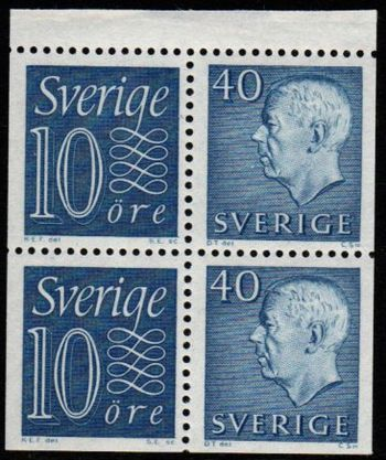 40ø Blue (Booklet Pane HA12 RV)
