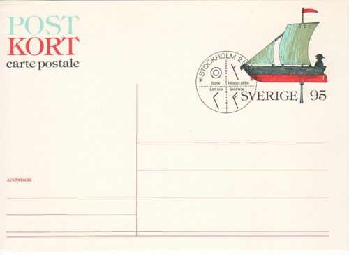 1977 Weathervane Post Card