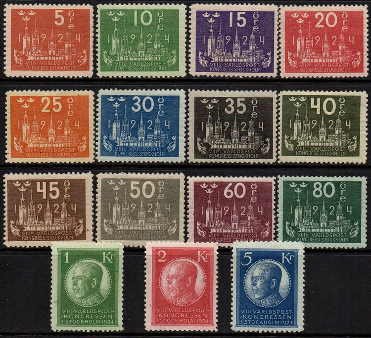 1924 World Postal Congress Set (M/M)