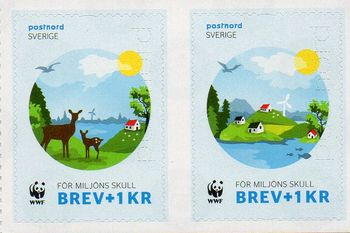 2015 WWF Charity Stamps