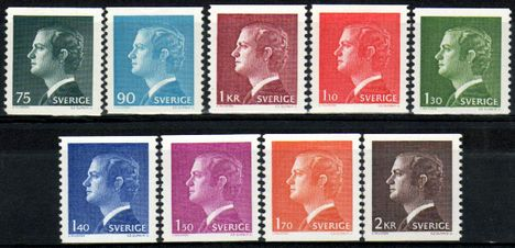 Carl XVI Gustav1974 to 1980 Set