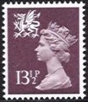 13½p Purple brown