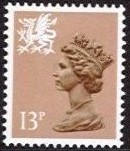 13p Pale Chestnut Type I