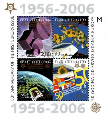 2005 50th Anniv. of Europa Stamps (M/S)