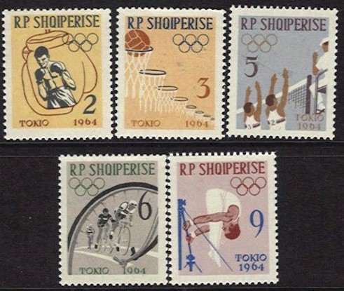 1963 Tokyo Olympics 2nd Issue