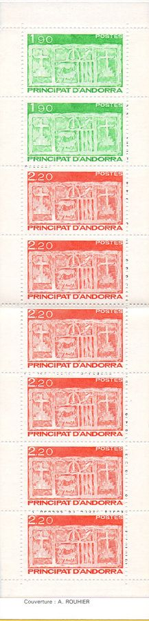 1987 Definitives Stamp Booklet