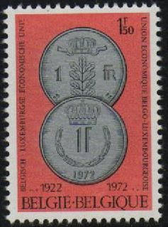 1972 Belgium Luxembourg Economic Union