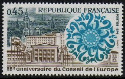 1974 Anniv. Council of Europe